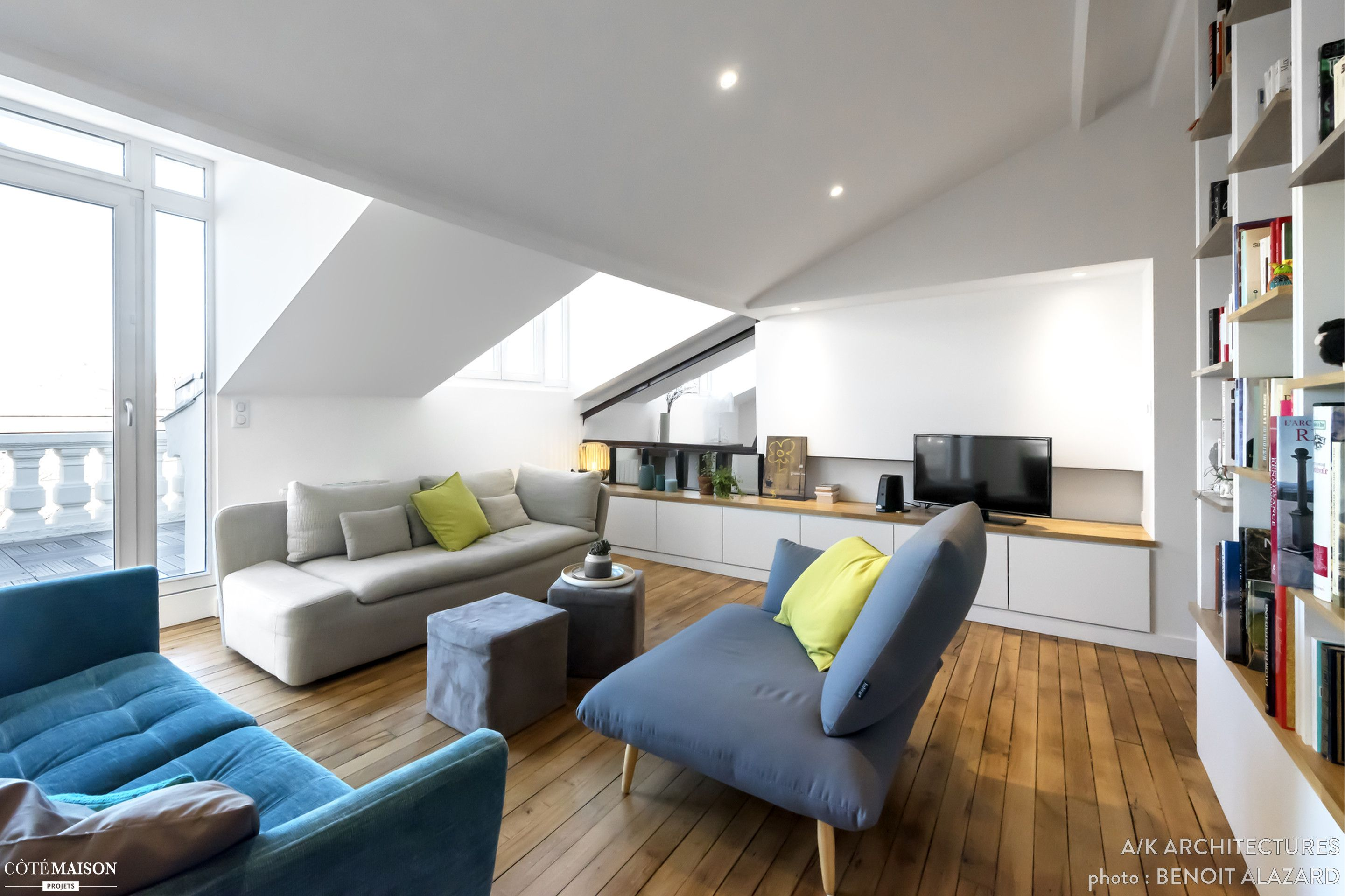 Réhabilitation d un appartement de 75m² salle d eau cuisine