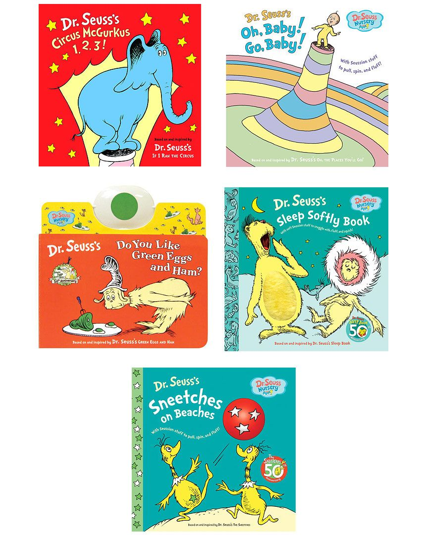 Dr Suess Nursery 5 Book Set A Must For Every Wee One