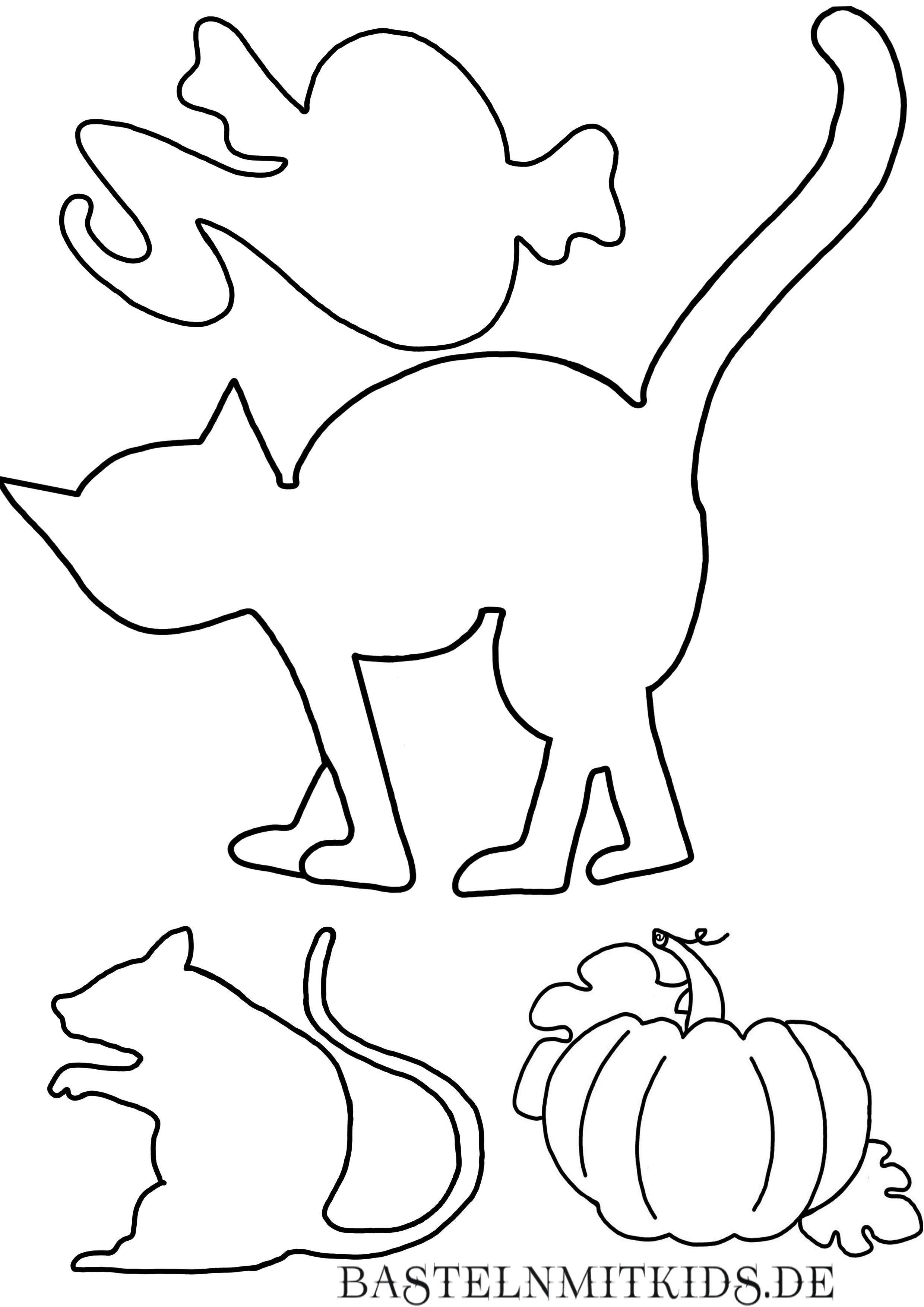 Malvorlagen Und Briefpapier Gratis Zum Drucken Basteln Mit Kindern Halloween Malvor In 2020 Halloween Basteln Vorlagen Malvorlagen Halloween Halloween Deko Basteln