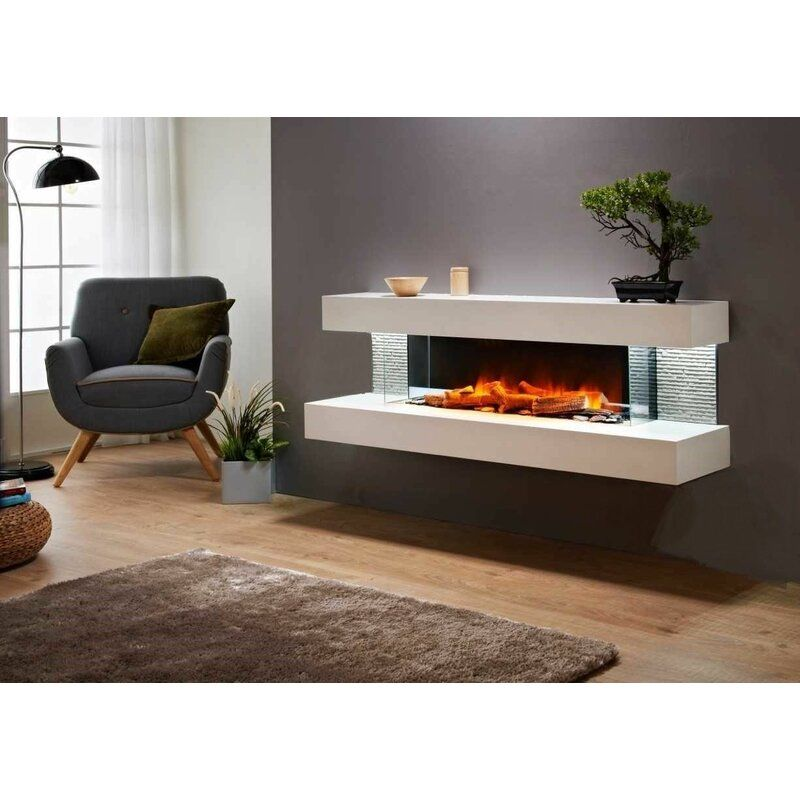 Katlyn Wall Mounted Electric Fireplace Fireplaces For Sale