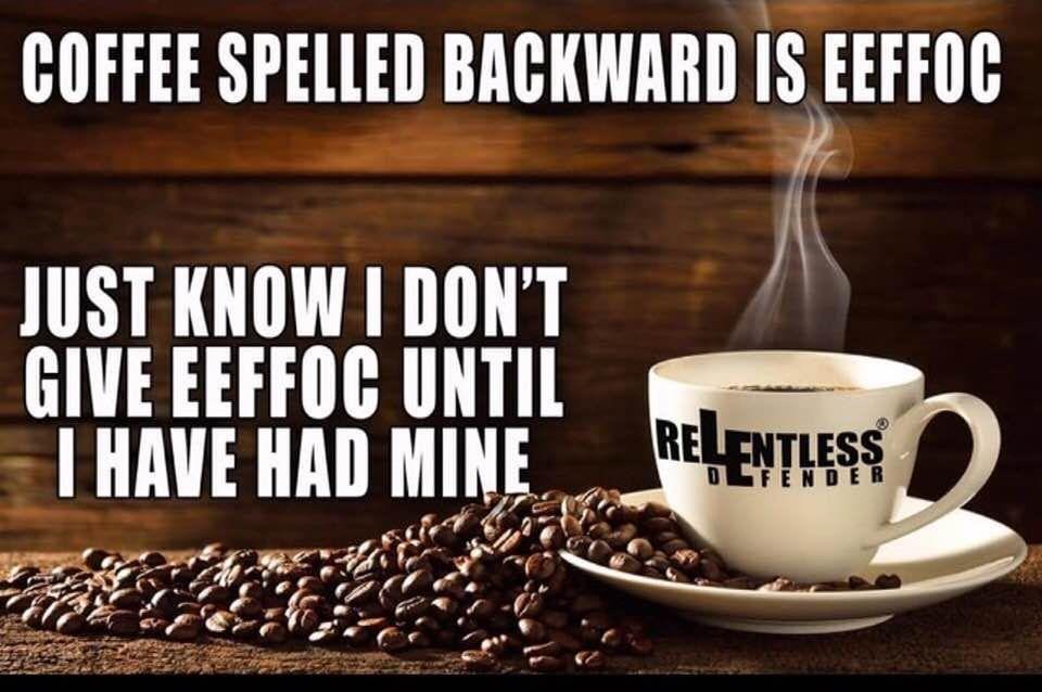 I Don T Give Eeffoc Coffee Humor Coffee Tableware