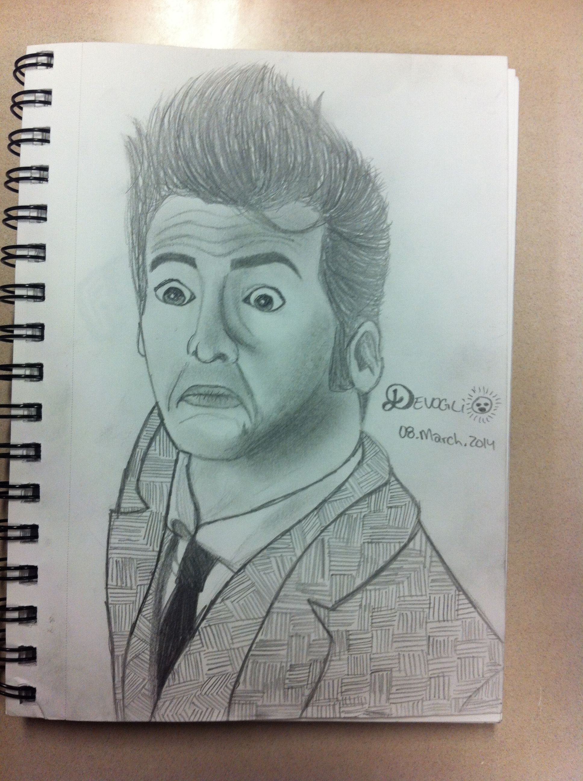 My first piece of Doctor Who fanart. No regrets.
