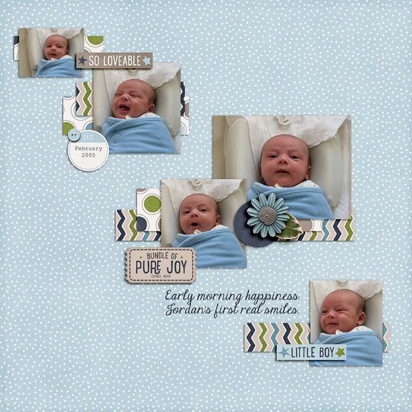Creations By Laura: Pure Joy Kit: Jack Collection By Mommyish & Wishing Well