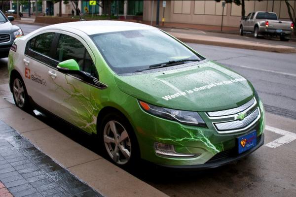 Westar Energy ElectricGo electric vehicle wraps. on Behance ...