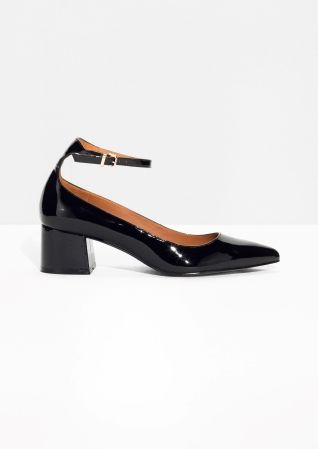 & OTHER STORIES Patent Leather Pumps Outlet Cheap Prices Cheap Online Store Manchester sZyrOoV