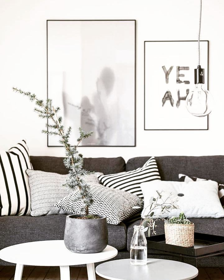 Black and white interior inspiration