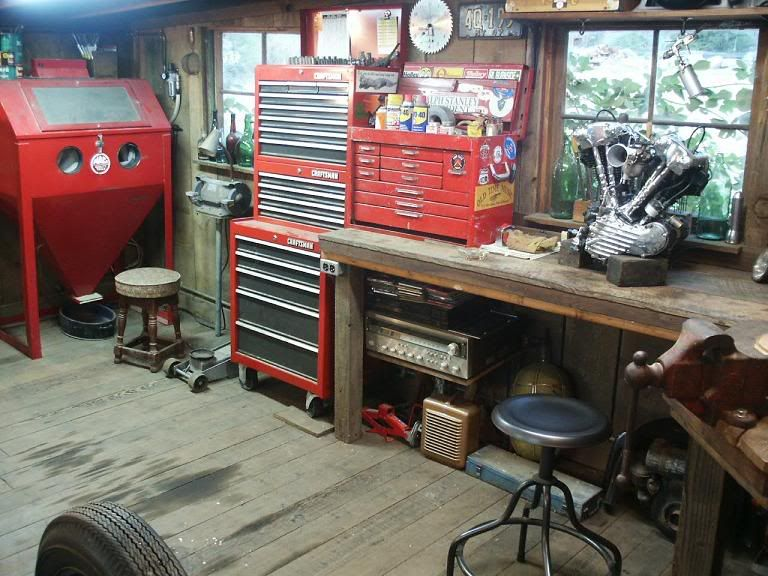 pictures of my shop expanding the garage journal board on new garage organization ideas on a budget a little imagination id=24159