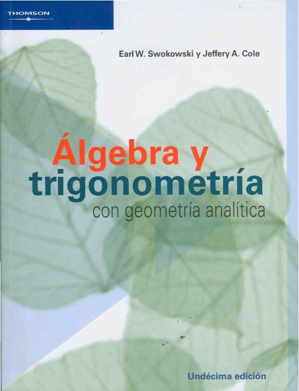 Código: MAT 007 S98 2009. Título: Álgebra y trigonometría con ...