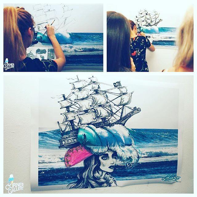 Pippa McManus Illustration @lepip Painted some big,...Instagram photo | Websta (Webstagram)