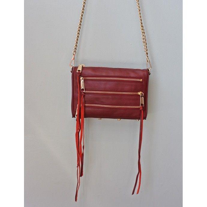 Rebecca Minkoff Mini 5-Zip Handbag #rebeccaminkoff