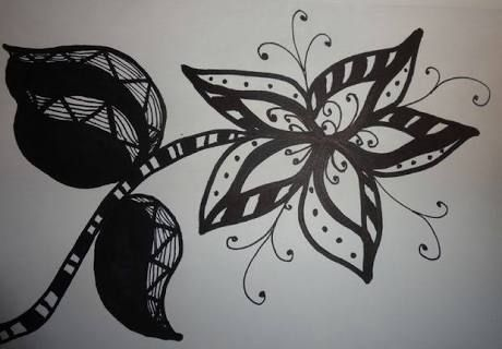 Cool Art Designs To Draw : Image result for cool designs to draw with sharpie flowers art