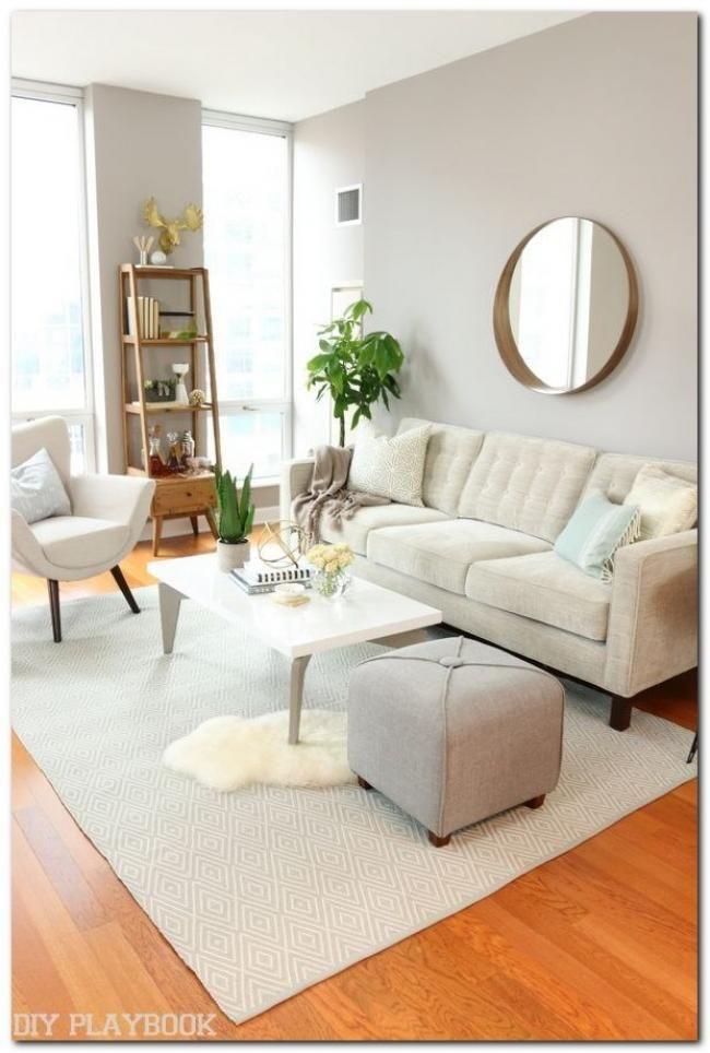 Adorable Small Apartment Living Room Decoration Ideas On A Budget