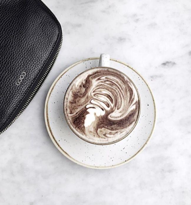 Homemade Iced Coffee By 𝓀𝒾𝓁𝑒𝓎 On ‧͙⁺˚*・゚coffee
