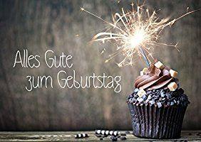 Moderne Geburtstagskarte Alles Gute Zum Geburtstag Von