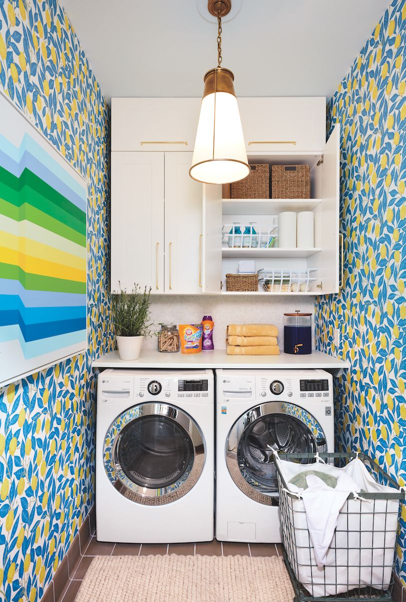 6 clever storage hacks to steal from the real simple home on effectively laundry room decoration ideas easy ideas to inspire you id=28027