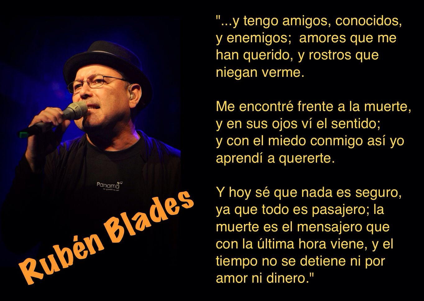 Rubén Blades - Maestra Vida #Panama