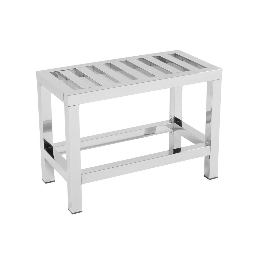 Stainless Steel Shower Bench | Shapeyourminds.com