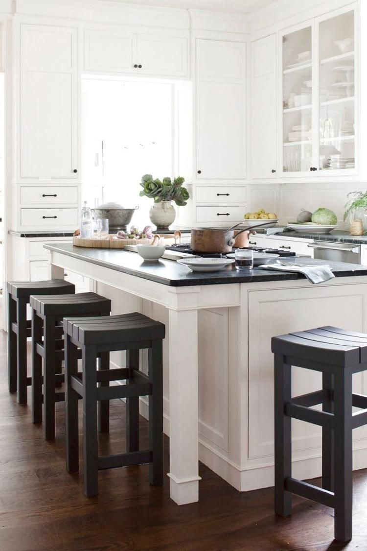 Best Small Kitchen Island With Seating Ideas Dapur Rumah Desain Dapur Dapur Putih