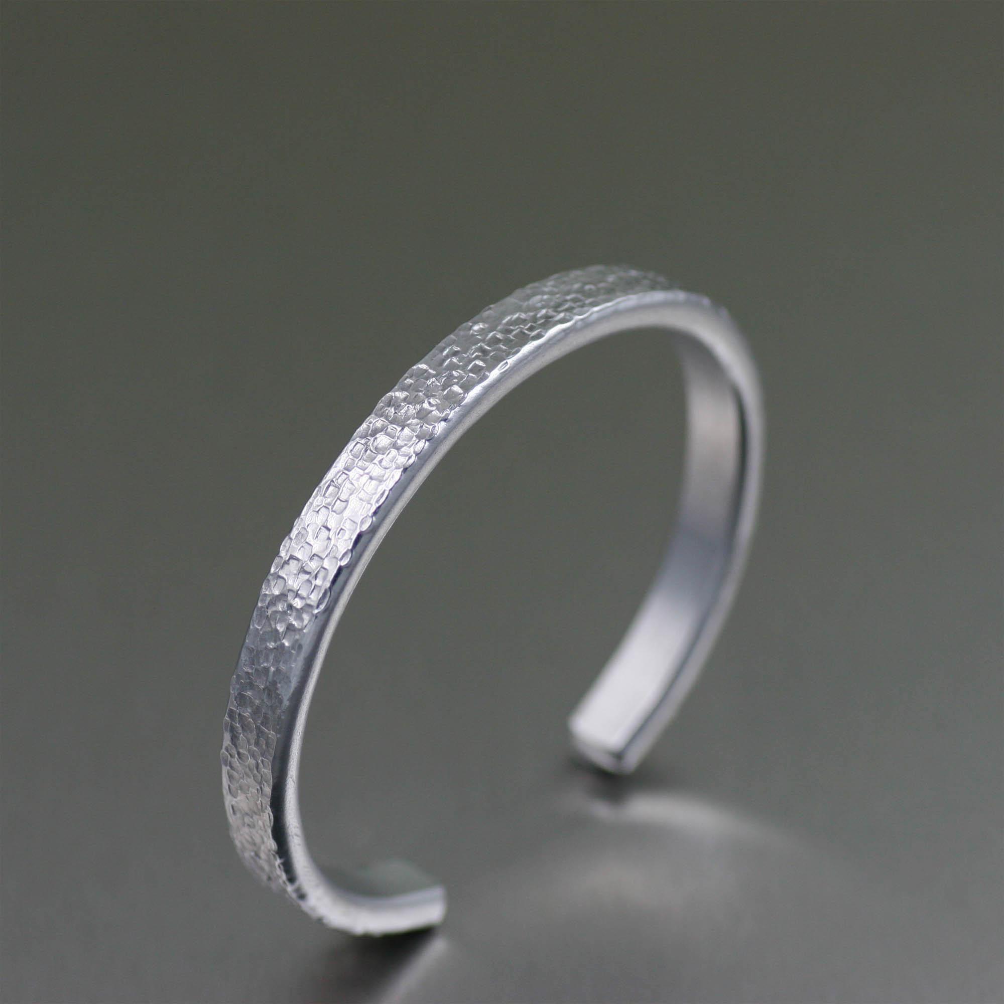 NEW! Phenomenal Silver-Toned Thin Texturized Unisex Cuff Featured on #Amazon #Bracelets http://www.amazon.com/dp/B015YQJNJ8