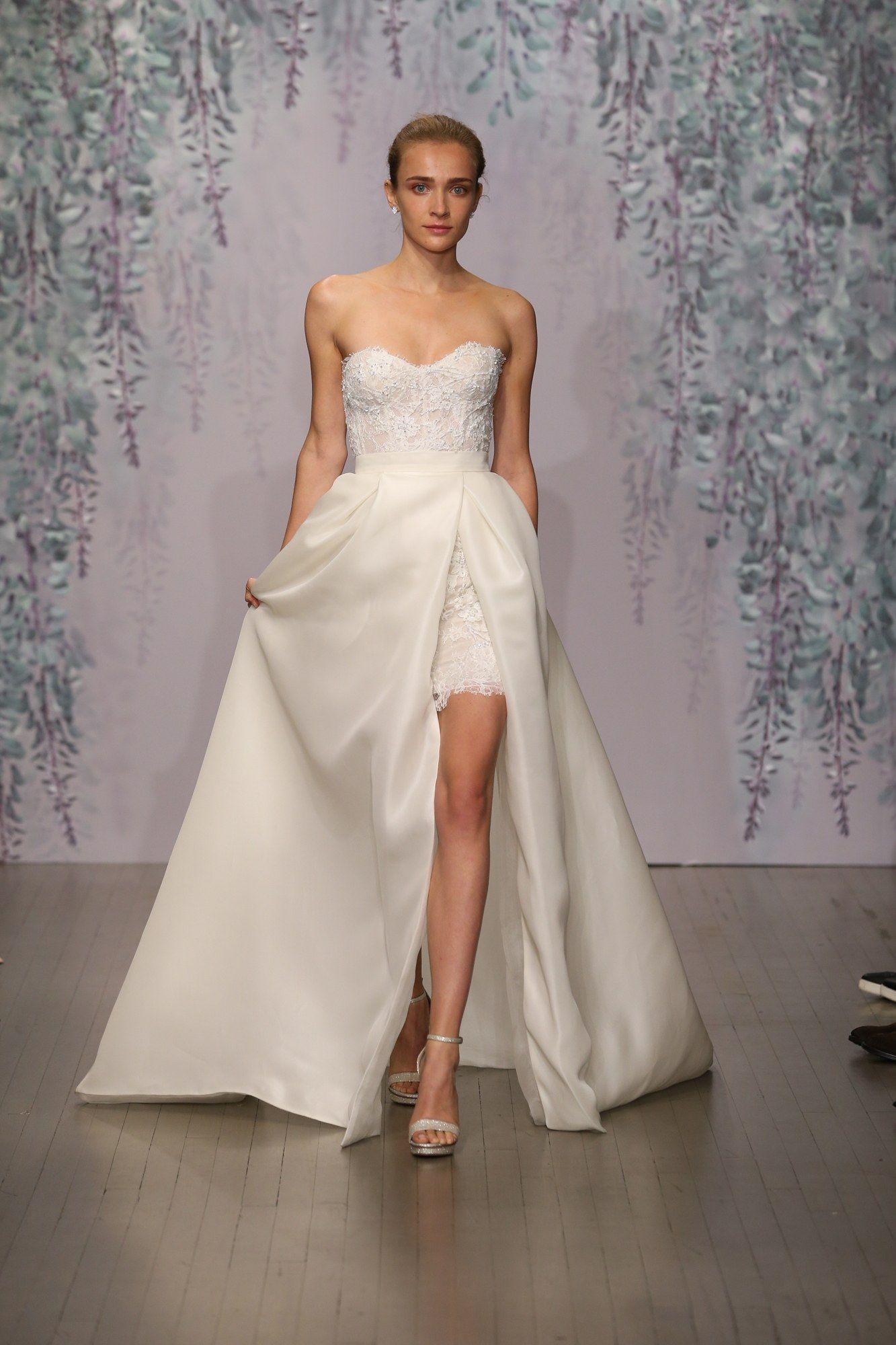 Monique Lhuillier Bridal Fall 2016 Fashion Show | Monique lhuillier ...