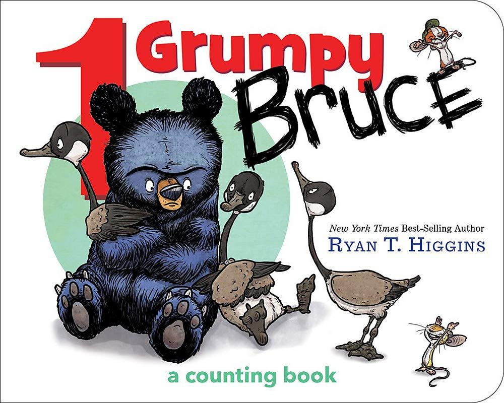 1 Grumpy Bruce A Counting Book Book Reviews For Kids Counting