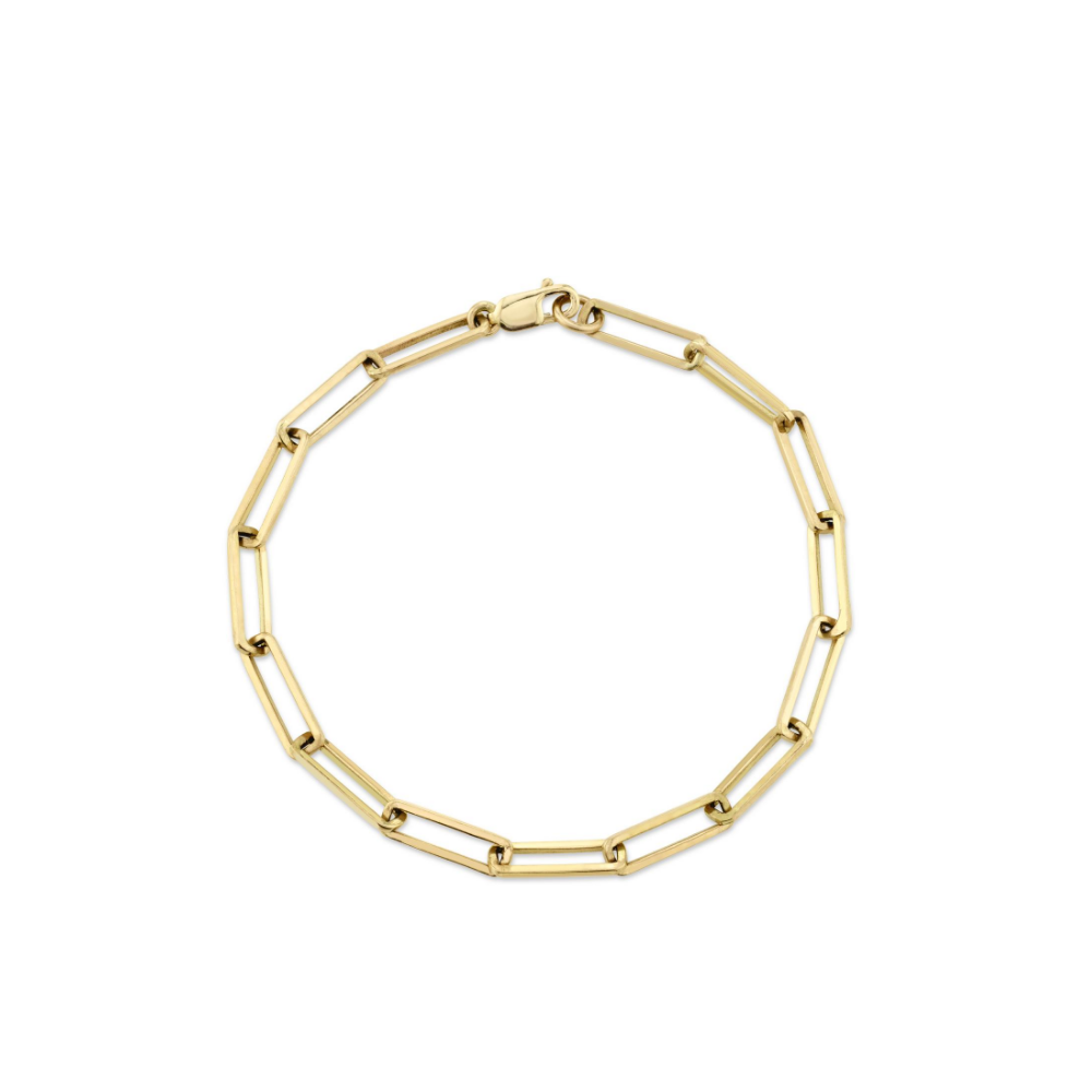 Willow Chain Bracelet - 14k Yellow Gold / 7