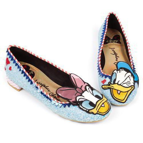 Irregular Choice Whoa Womens Donald Duck Disney Pumps Size UK 4-8   IrregularChoice  Ballerinas  Party 5f8ada6d9