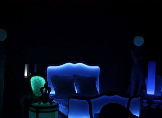 Glow In The Dark Bedroom