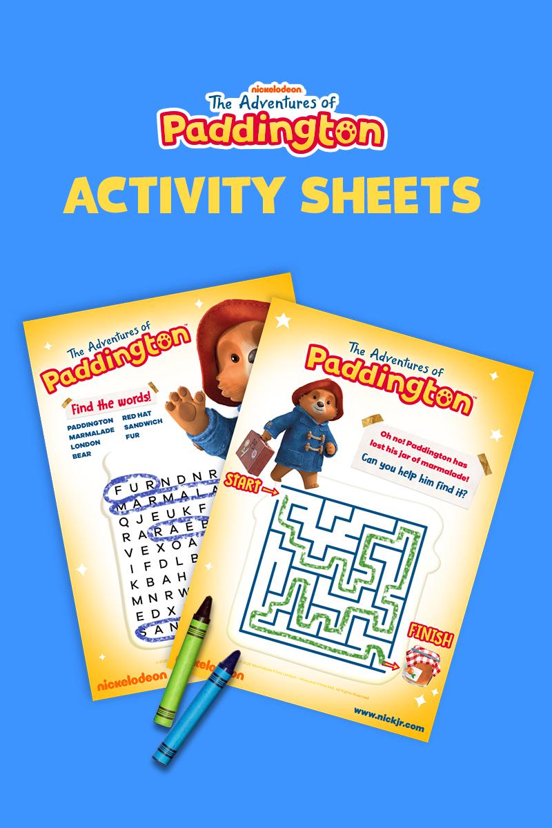 The Adventures Of Paddington Continue On Paper Paddington How To Memorize Things Printable Mazes