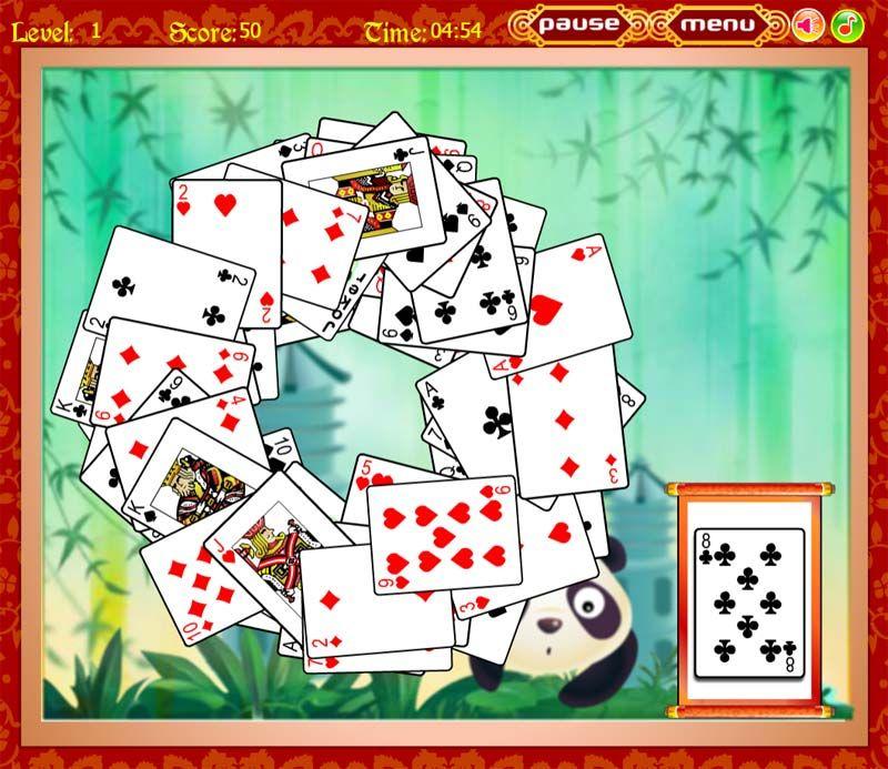 пасьянс играть в карты игральные