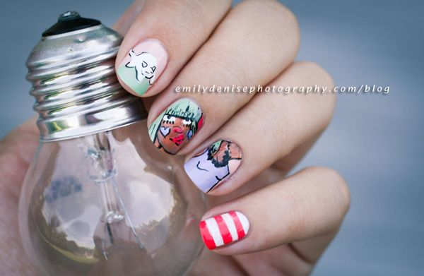 Very Emily » Fafinette Nail Art