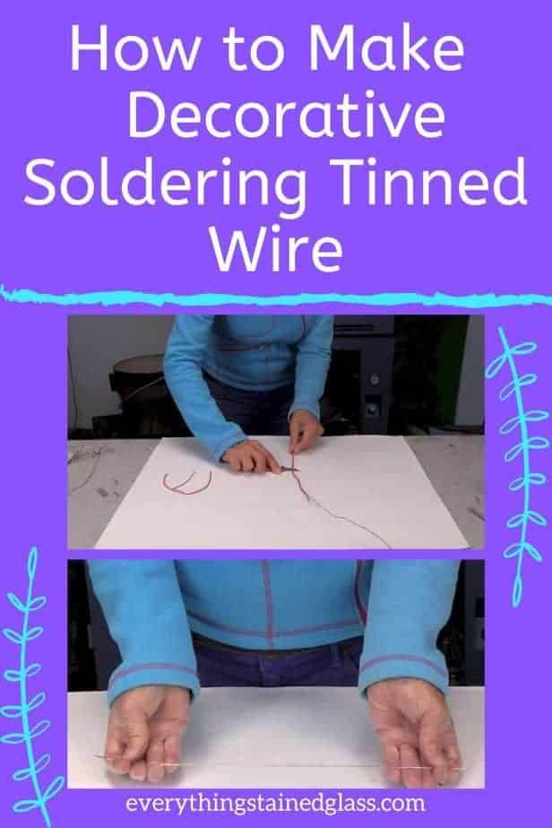 Tinning Copper Wire for Stained Glass - Add Gorgeo