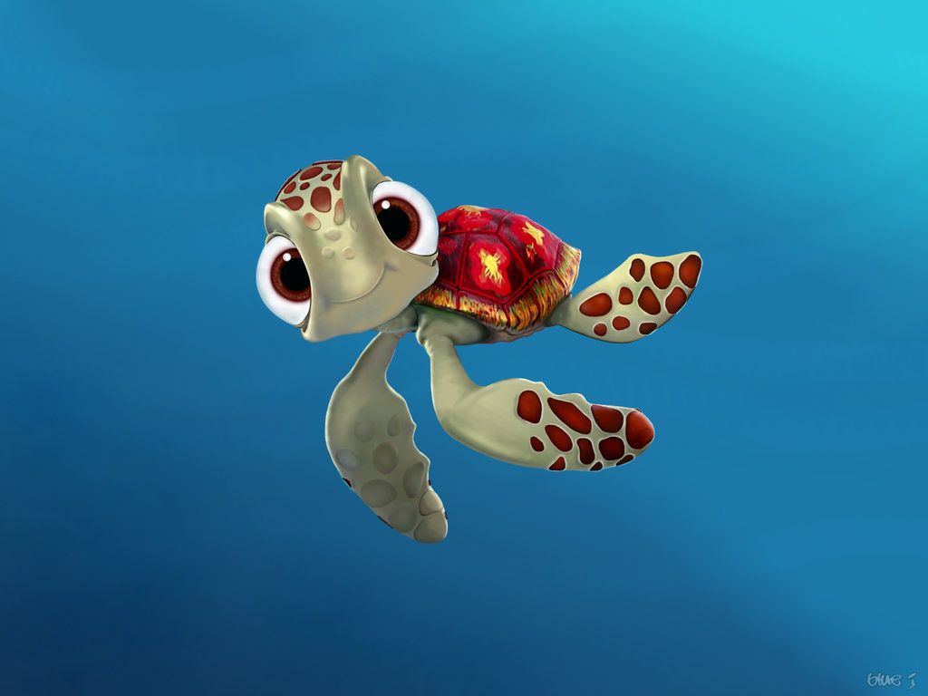 Squirt The Turtle by BlueJ23 on deviantART Pin ALL the