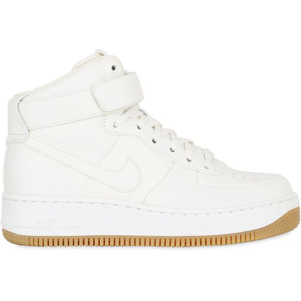 Nike Women Nikelab Air Force 1 Pinnacle Sneakers ( 230) ❤ liked on Polyvore  featuring 0aee989d9