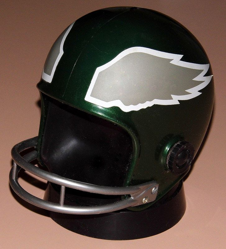 Vintage Nfl Helmet Novelty Transistor Radio Philadelphia Eagles By Pro Sports Marketing Made In Usa Copyright 1973 Sports Marketing Helmet Pro Sports