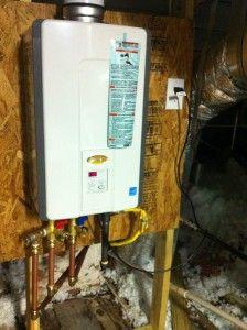 Tankless Hot Water Heater Installation Water Heater Installation Tankless Hot Water Heater Water Heater