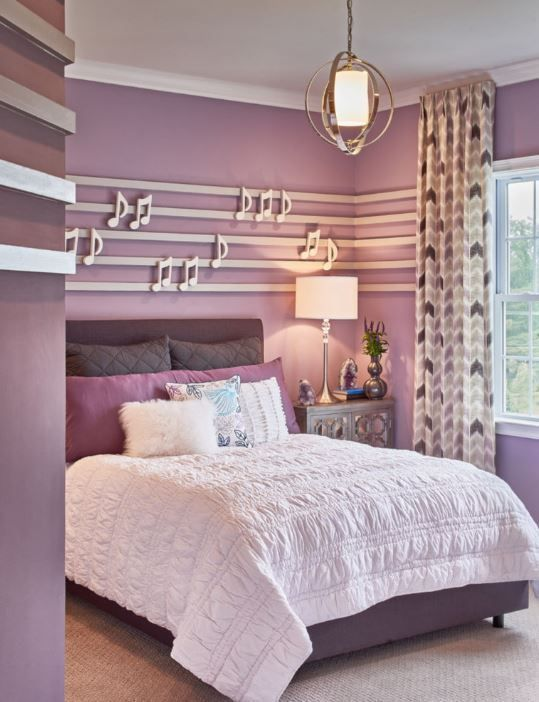 17 Magnificent Purple Bedrooms That Are Worth Seeing Shabby Chic