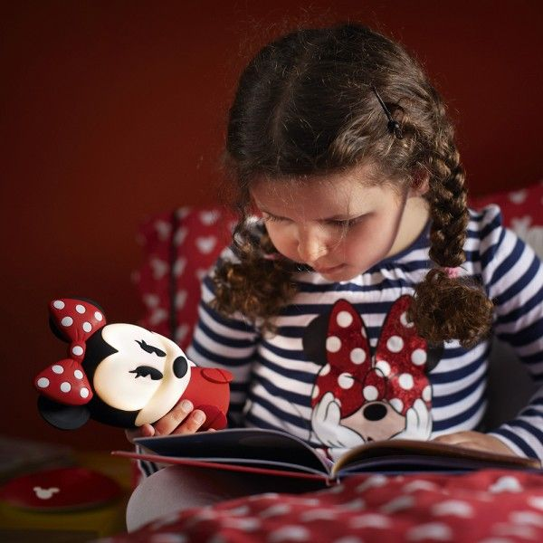 Philips Disney Children's Minnie Mouse LED Night Light ...