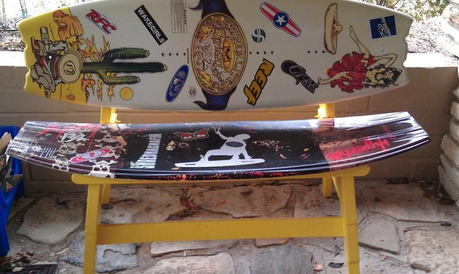 Wakeboard Bench Home Sweet Home Pinterest