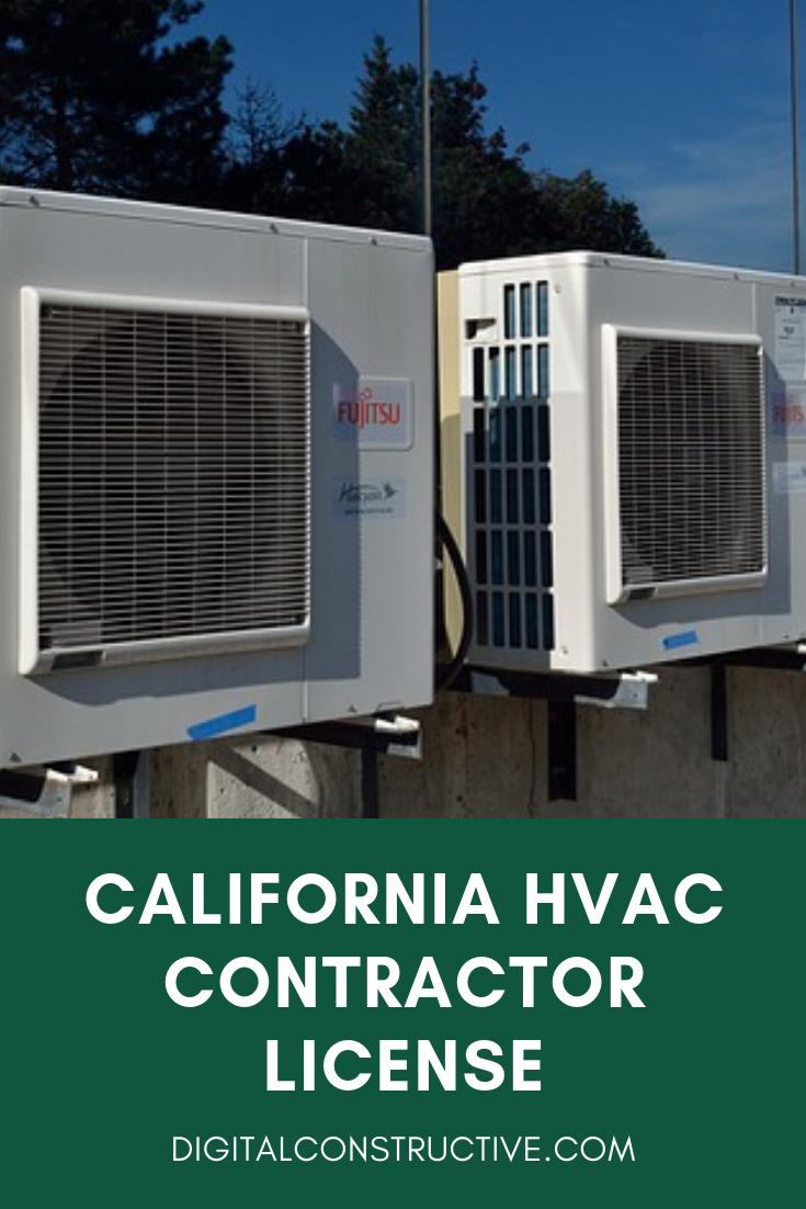 C20 License Guide for HVAC Contractors Contractors