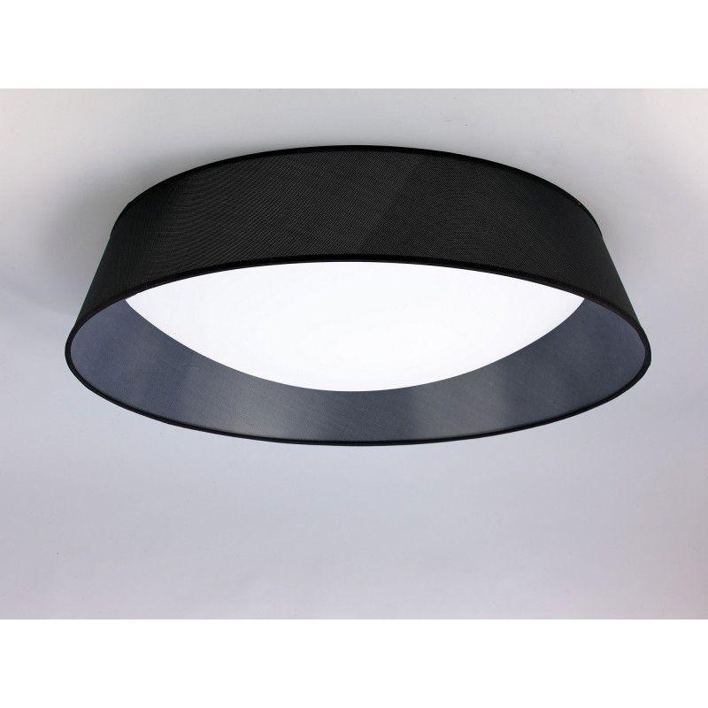 plafonnier led nordica noir 90cm 2 coloris mantra. Black Bedroom Furniture Sets. Home Design Ideas