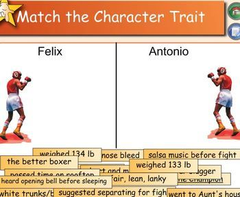 """Amigo Brothers"""" Character Trait Match 