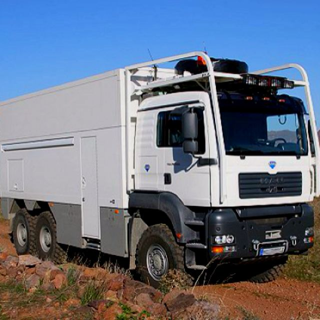 Garbage Truck Camper | Campers | Pinterest | Truck camper and Rigs