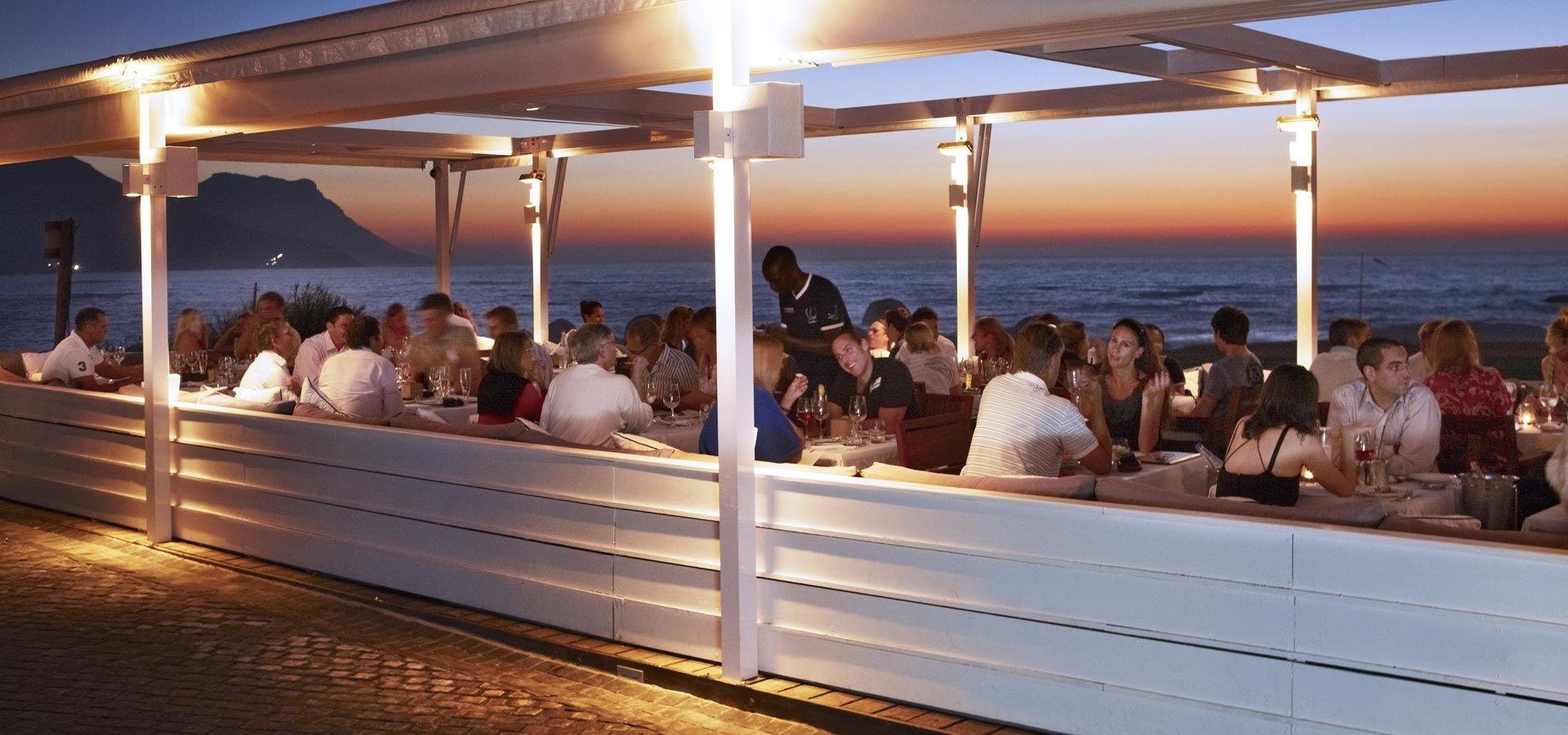 The Bungalow Restaurant Clifton Restaurants Cape Town
