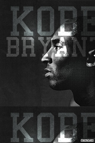wholesale dealer f0d3a dda43 Kobe Bryant Nike Ad iPhone Wallpaper