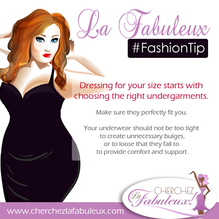 #FashionTip for Curvy, Plus Size Women #BeReal #BeConfident