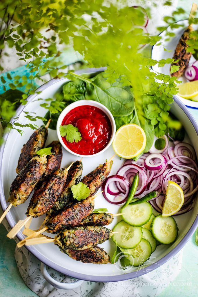 Veg hara bhara kabab recipe indian curry vegans and curry indian vegetarian and vegan food blog about spicy indian curry south indian recipes kid forumfinder Images