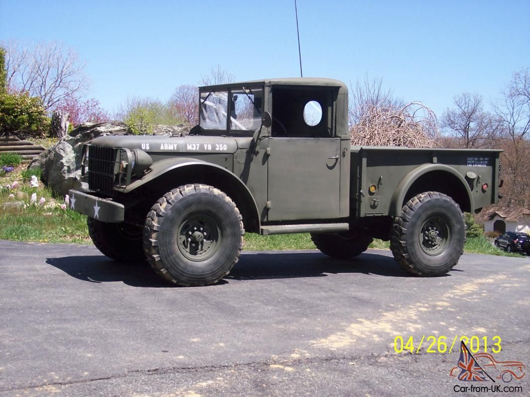 Dodge Power Wagon Military M37 Truck v8 Auto for sale   Cars and