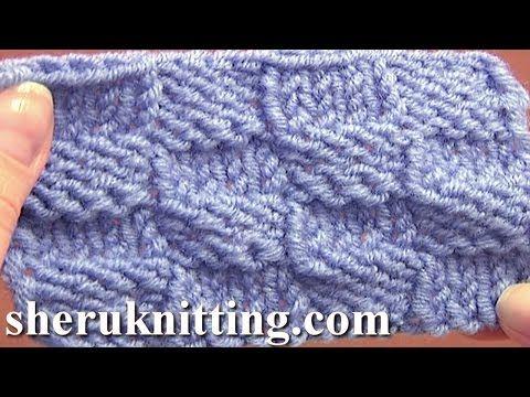 Knitted Checkerboard Stitch Pattern Tutorial 8 Easy Knitting Stitch