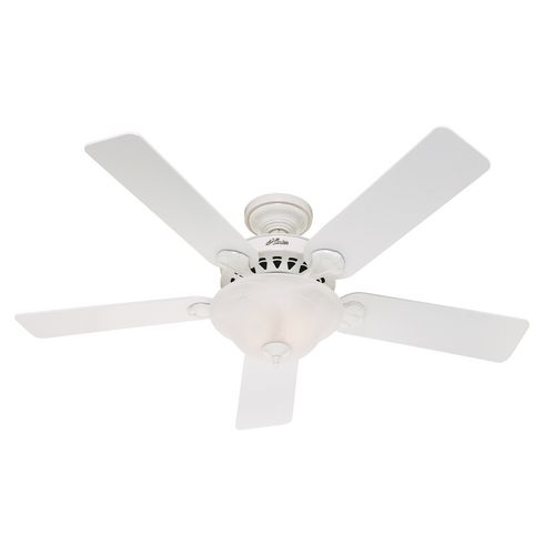 This Is The Same Ceiling Fan We Had In Our Old House It Was Very Easy To Install With No Help It Was A White Ceiling Fan Ceiling Fan With Light